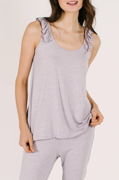 "The Sweetheart Tank | Asel is 5'9"" wearing an XS"