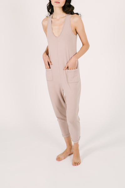"The Saturday Romper | Asel is 5'9"" wearing an XS"