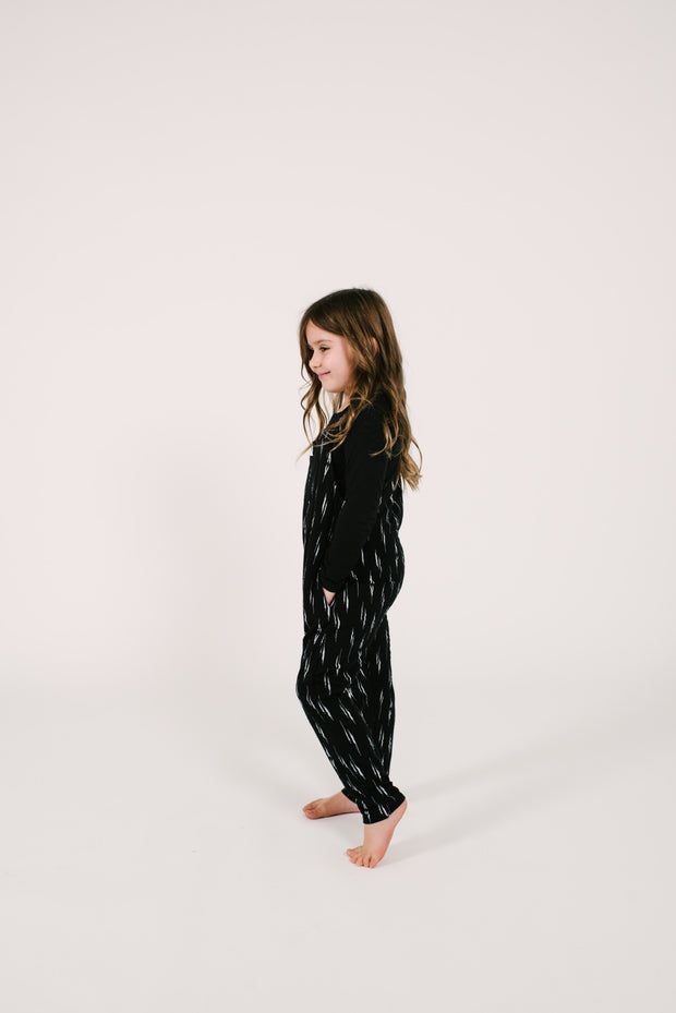 The Mini Romperalls | Camille is wearing size 6/7