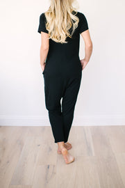 "The Alliance of Moms Romper | Brooke is 5'6"" wearing Size S"