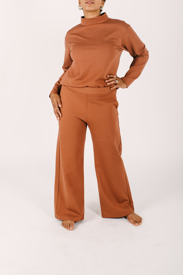 THE AUDREY PANTS IN AUDREY AUBURN