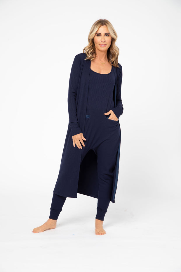 CR X S+T - THE MANHATTAN DUSTER IN MODEST MARINE