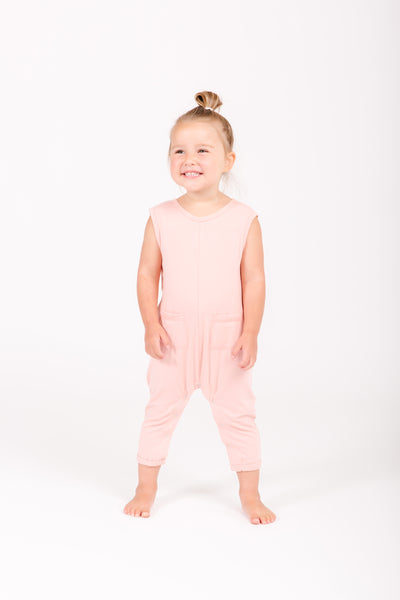 The Mini Saturday Romper | Zavery is wearing size 4/5
