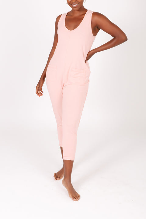 "The Saturday Romper | Iman is 5'6"" wearing size XS"