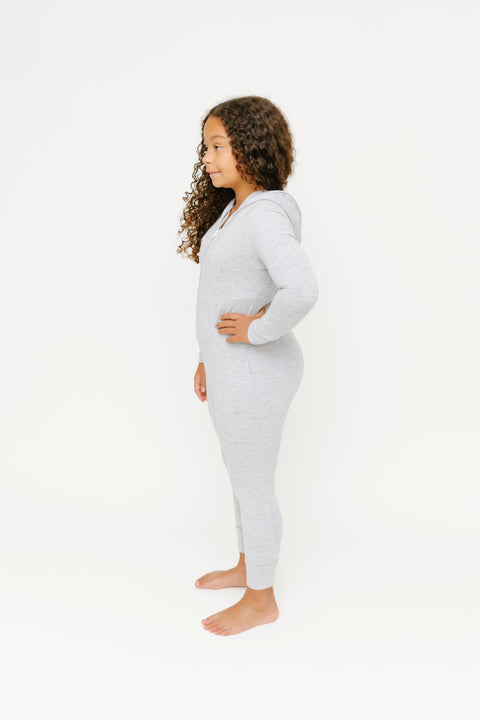 The Mini Jilly Jogger Romper | Aleya is 4' wearing 6/7