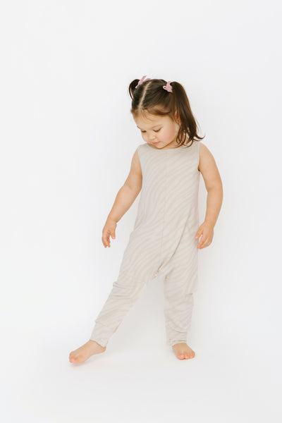 the mini tuesday romper | Bella is wearing size 2T