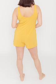 "The Shorty Romper | Nat is 5'7"" wearing size Small"