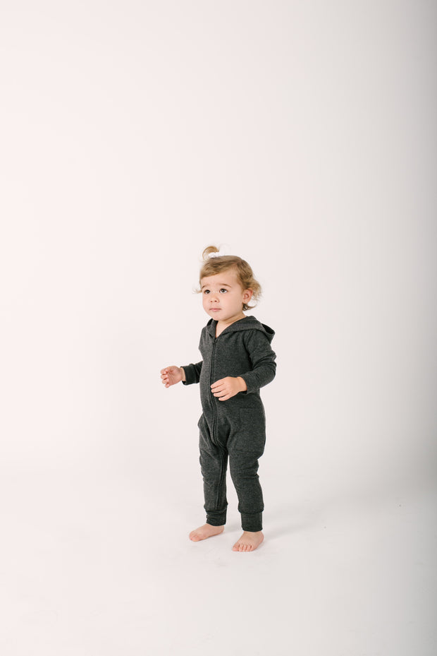The Mini Jilly Jogger Romper | Frankie is wearing size 18-24M