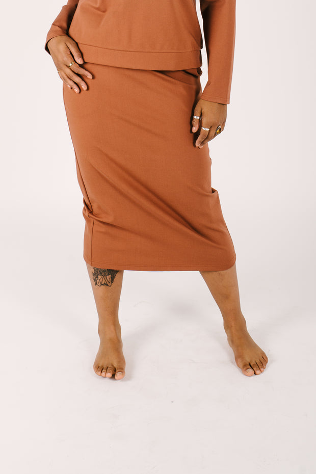 THE AUDREY SKIRT IN AUDREY AUBURN