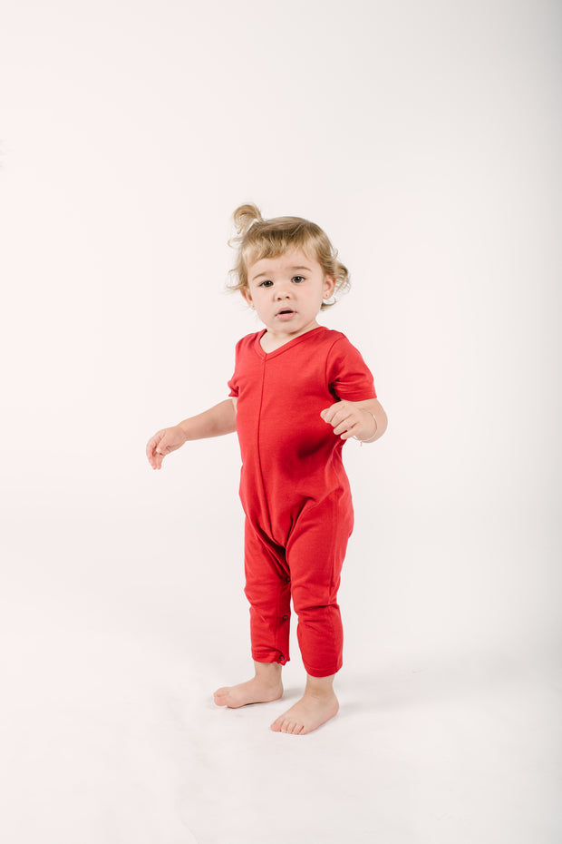The Mini Sunday Romper | Frankie is wearing 18-24M