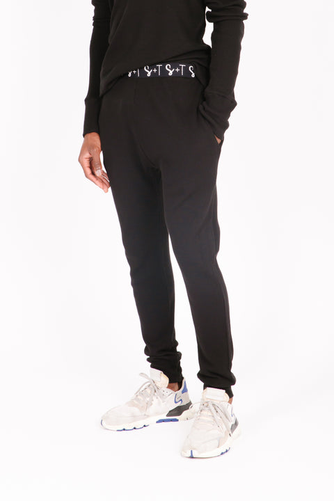 "The Guy Waffle Jogger | Mamoud is 6'2"" wearing size L"