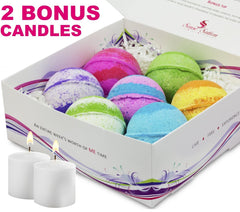7 Marvelous Bath Bombs Gift Set
