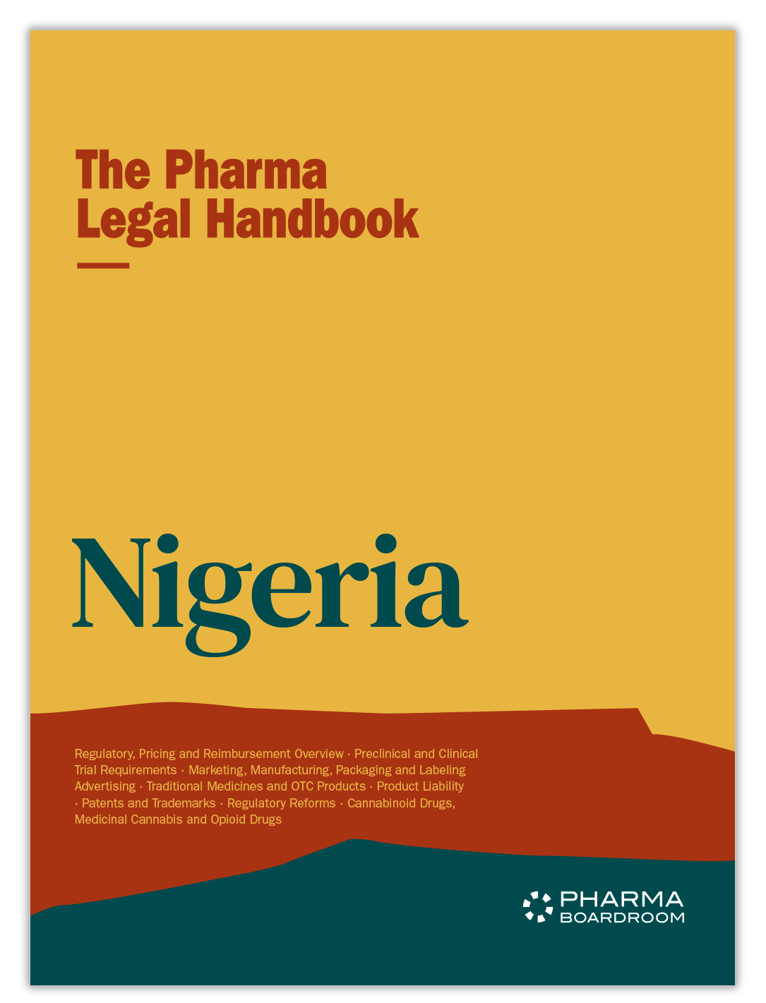 The Pharma Legal Handbook: Nigeria