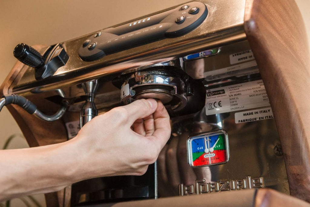 clean your espresso machine 7