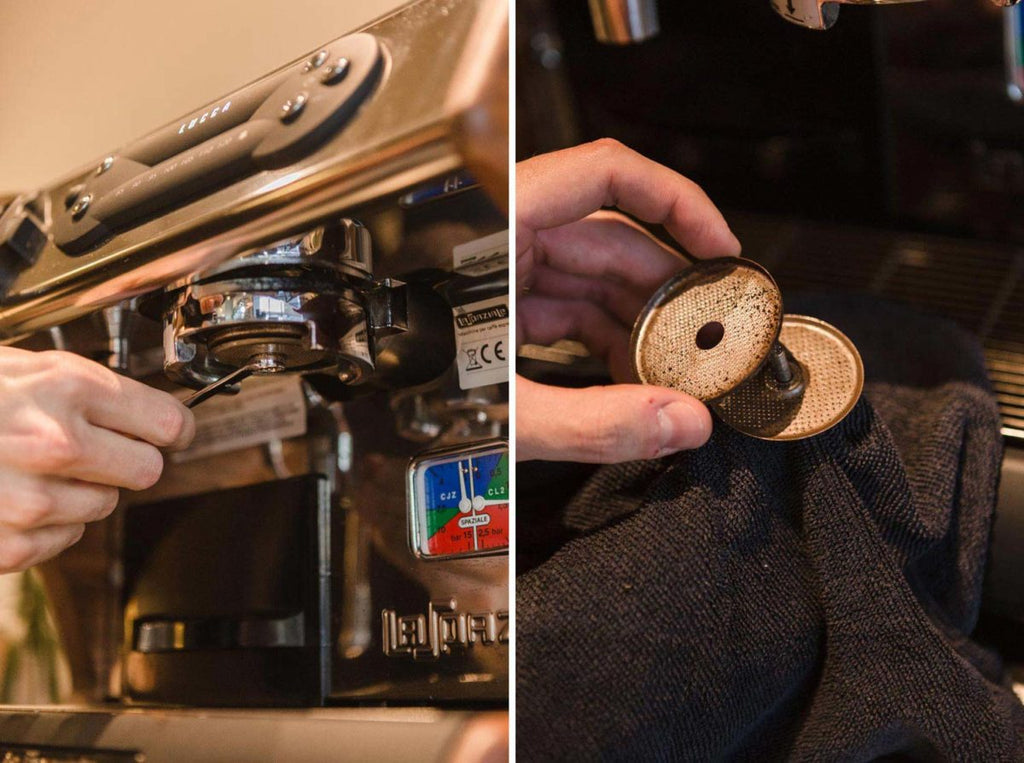 clean your espresso machine 2