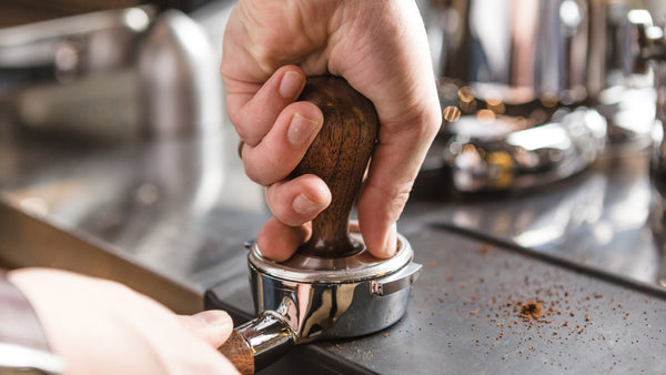 Proper tamping technique is important, so getting a nice wood tamper can be a good incentive to learn.