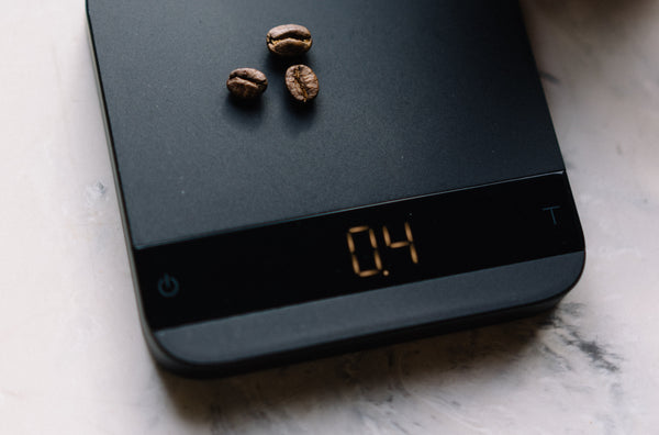 Acaia's Lunar scale is our first pick when it comes to coffee scales.