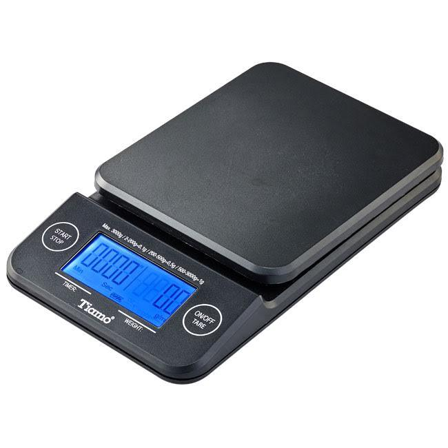 Tiamo digital coffee scale with timer, Clive Coffee - Knockout