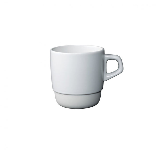 Kinto SCS Stacking Mug, white, Clive Coffee - Knockout