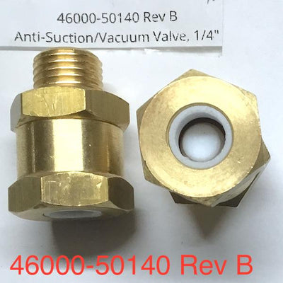 Slayer Anti-Suction Valve 1/4