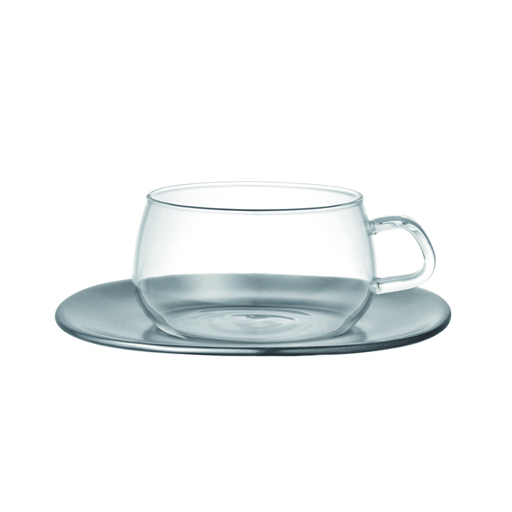 Kinto Unitea Cup & Saucer 8oz from Filter - Product Image