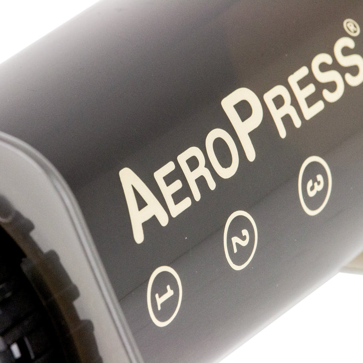Aero Press Coffee Maker close up from Filter - Product Image