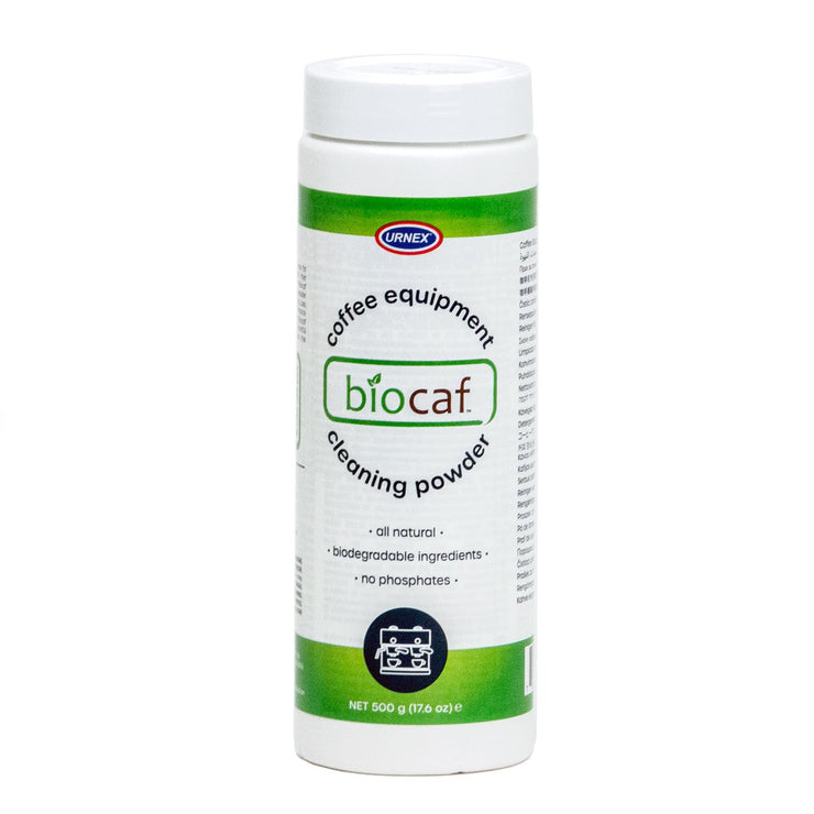 Urnex Biocaf espresso machine backflush detergent and cleaner, Clive Coffee - Knockout