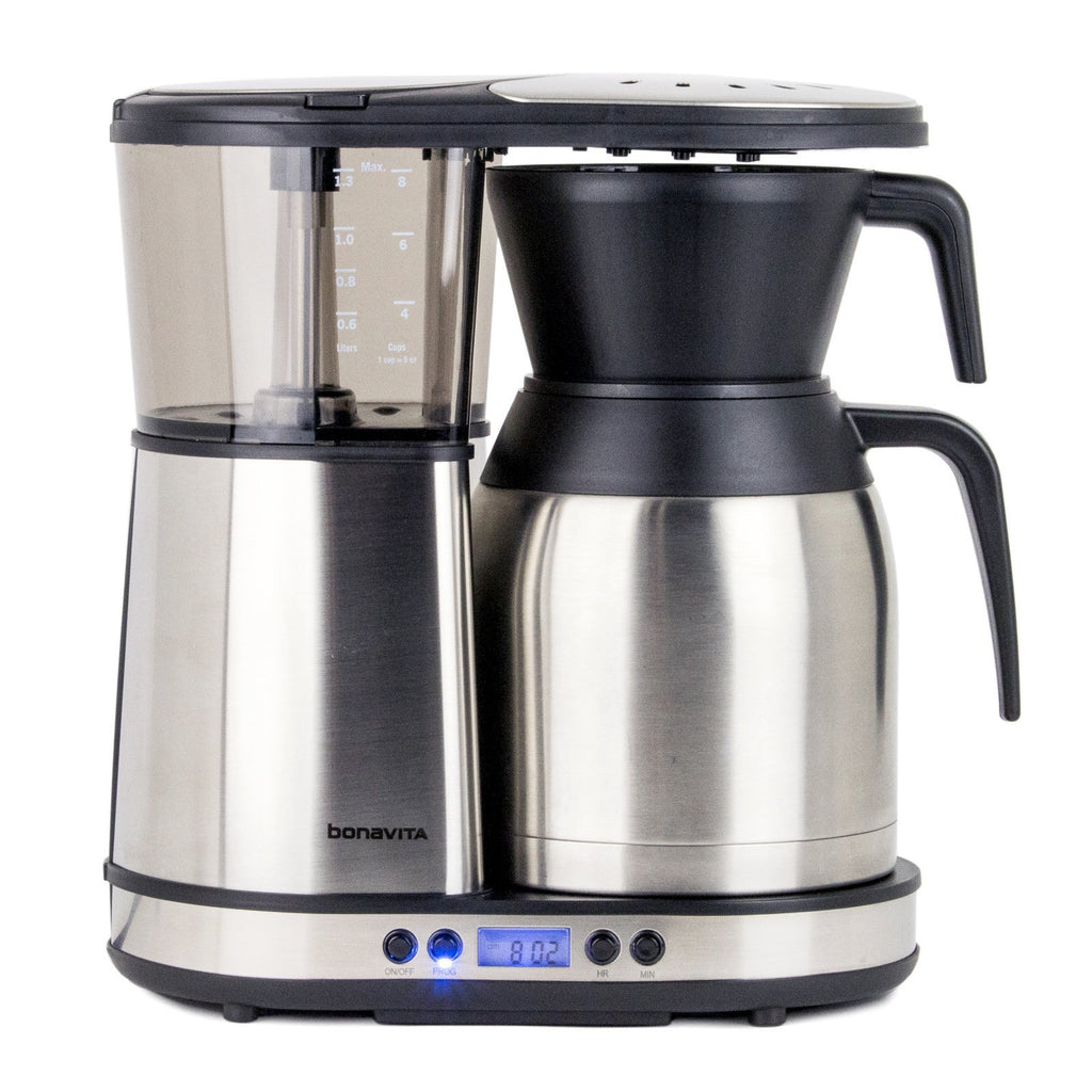 programmable coffee maker bonavita bv1900td programmable coffee maker clive coffee 12717