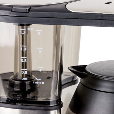 Bonavita BV1900TD Programmable Coffee Maker water reservoir from Clive Coffee - Product Image
