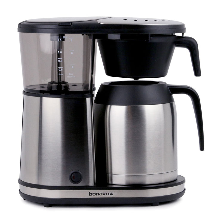 Bonavita BV1901TS Connoisseur Coffee Maker, Clive Coffee - Knockout