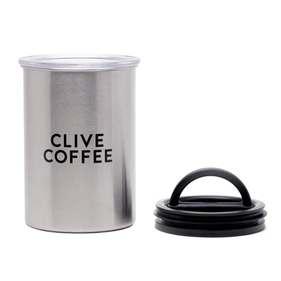 Airscape Vacuum Sealed Coffee Canister by Clive Coffee - Product Image