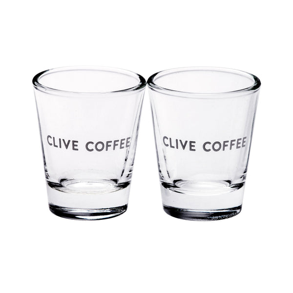 Clive Coffee Clive Espresso Shot Glass (Set of 2) - Knockout