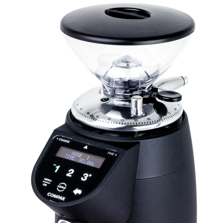 Compak E10 Conic Essential On Demand Espresso Grinder hopper by Clive Coffee - Product Image