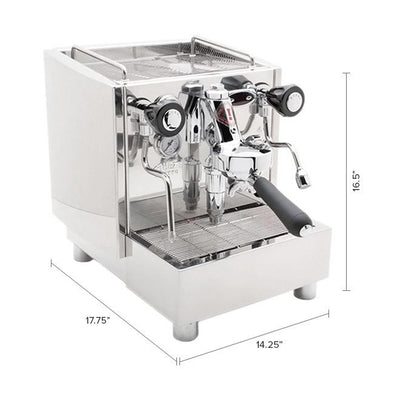 Izzo Alex Duetto 3.0  Espresso Machine Dimensions