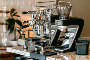 Baratza Sette 270Wi with ECM Classika Polished from Clive Coffee - lifestyle