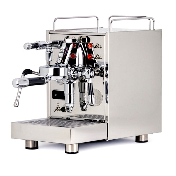 Special Edition ECM Classika PID Espresso Machine, polished stainless, Clive Coffee - Knockout