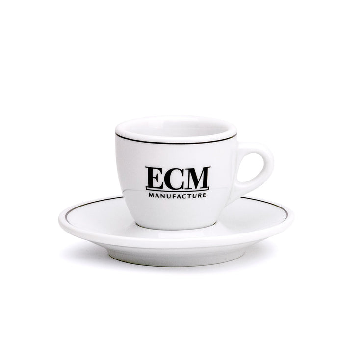 ECM espresso cup and saucer - knockout