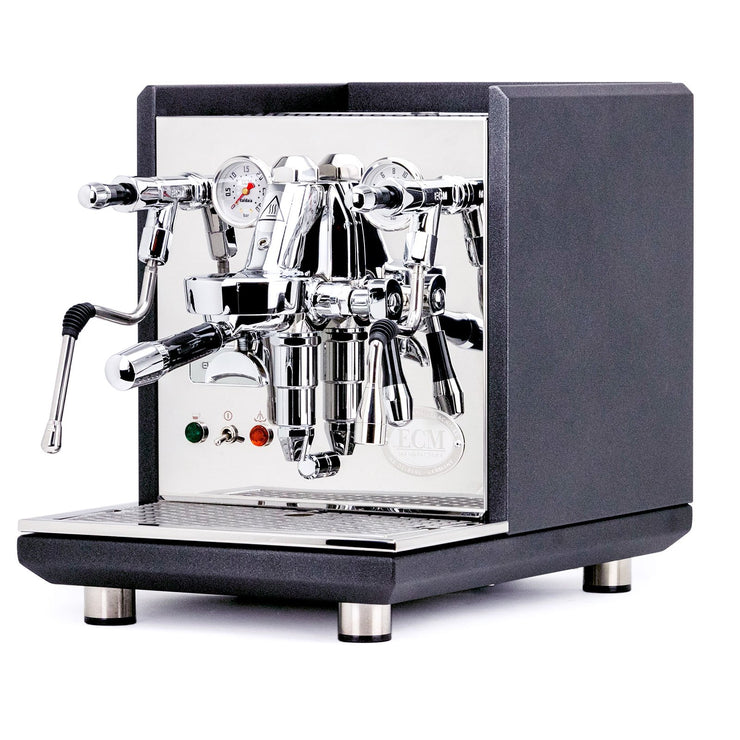 ECM Synchronika dual boiler espresso machine in Anthracite, Clive Coffee - Knockout