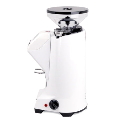 Eureka Zenith 65E High-Speed Espresso Grinder white side by Clive Coffee - Product Image