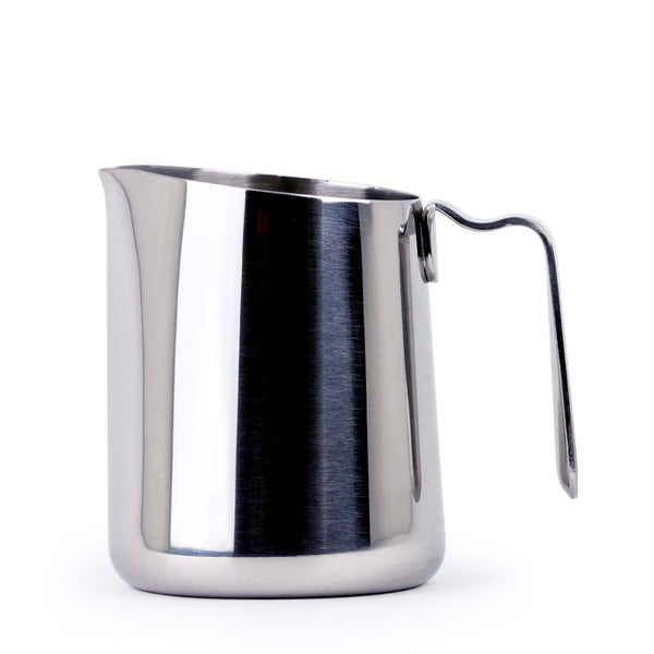 Fellow Eddy Steaming pitcher, polished stainless 12oz, Clive Coffee - Knockout