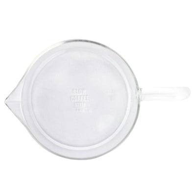 Kinto SCS Coffee Jug top view from Clive Coffee - Product Image