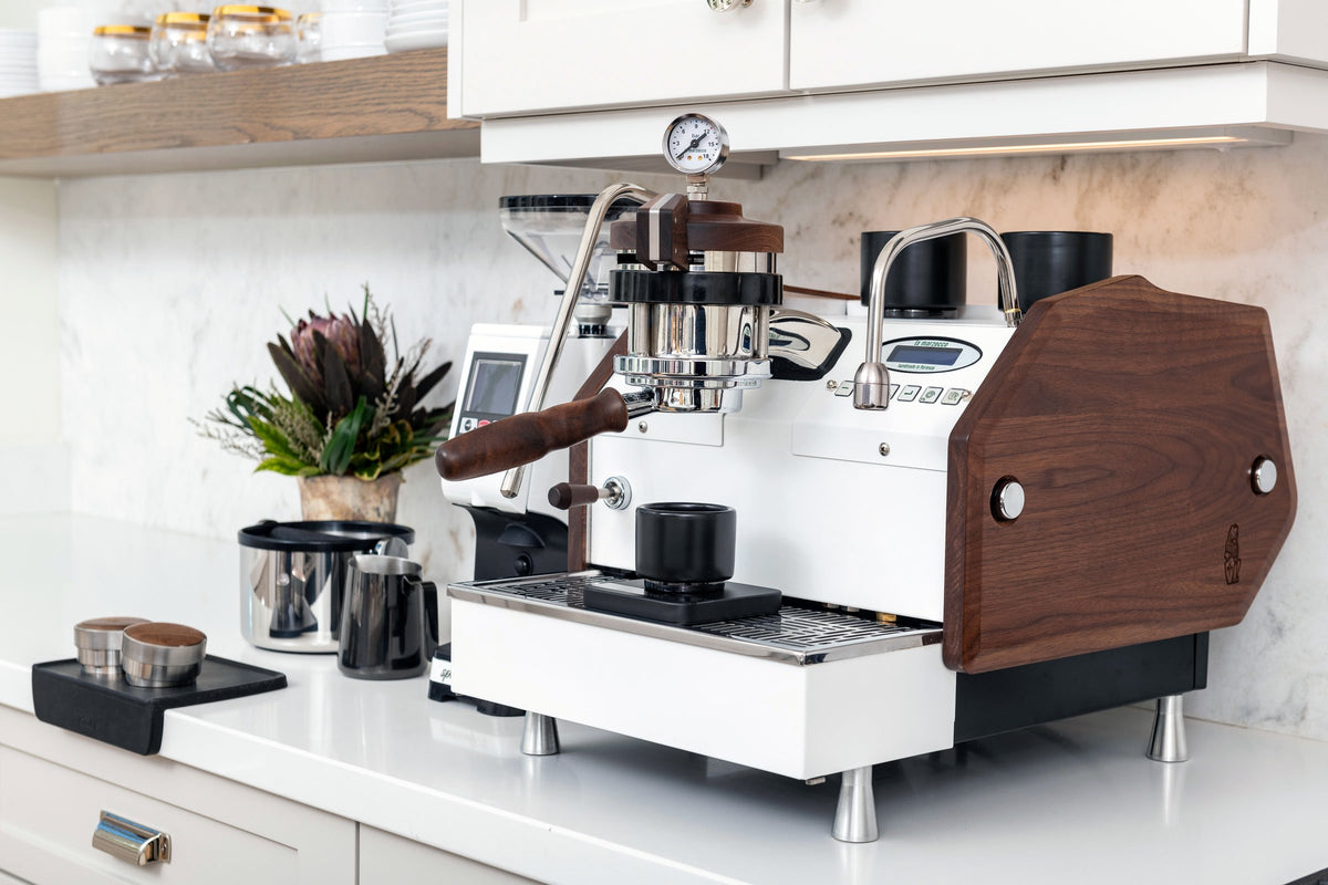 La Marzocco GS3 manual paddle commercial espresso machine, Clive Coffee - lifestyle