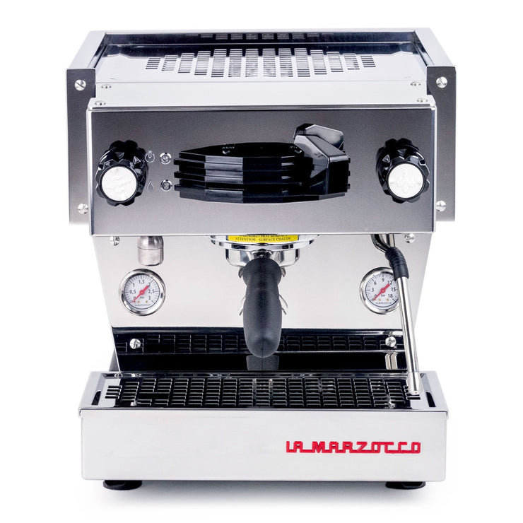 La Marzocco Linea Mini Espresso Machine in stainless steel from Clive Coffee - Product Image