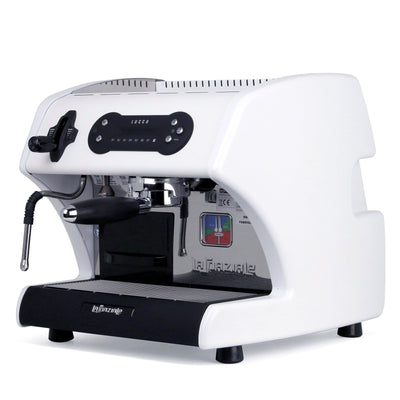 Special Edition White LUCCA A53 Mini Espresso Machine by La Spaziale from Clive Coffee - Product Image
