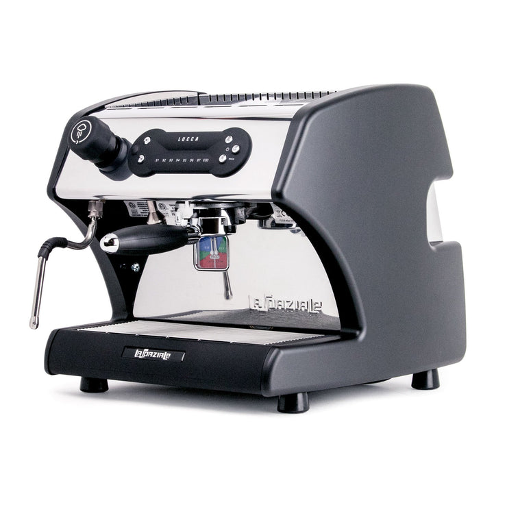 LUCCA A53 Direct Plumb Espresso Machine by La Spaziale with standard side panels by Clive Coffee - Knockout
