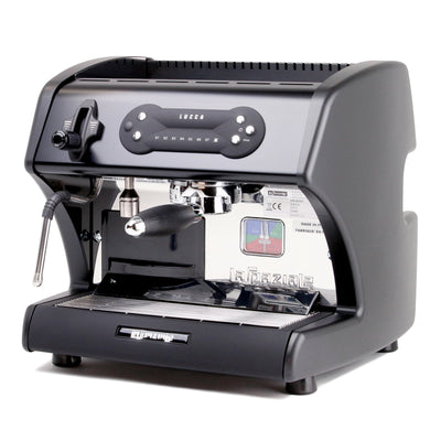 Lucca A53 Mini Espresso Machine in Black by La Spaziale from Clive Coffee - Product Image