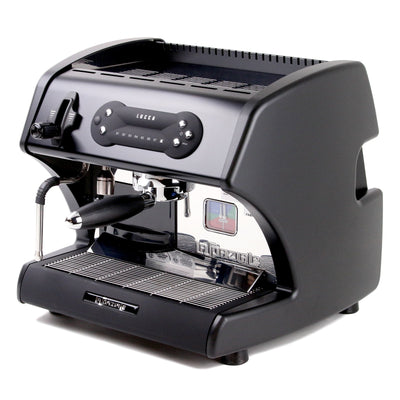 Open Box LUCCA Special Edition Black A53 Mini Espresso Machine by La Spaziale
