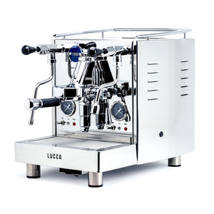 LUCCA M58 Espresso Machine by Quick Mill in stainless steel by Clive Coffee - Product Image