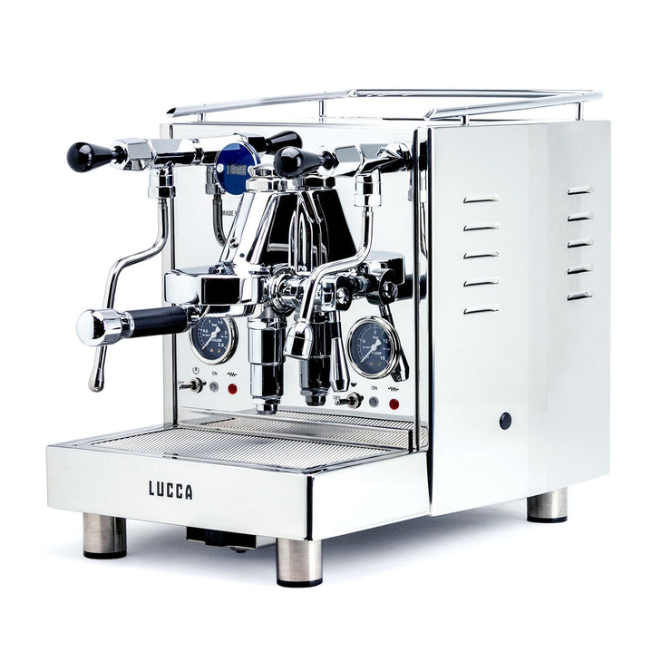 LUCCA M58 V2 Dual Boiler Espresso Machine by Quick Mill, Clive Coffee - Knockout