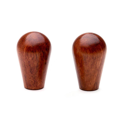 Wood Knobs in bubinga, set of 2 from Clive Coffee - Product Image